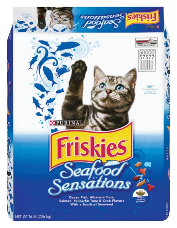 Friskies seafood sensations 5000057577 dry cat food for Friskies cat fishing