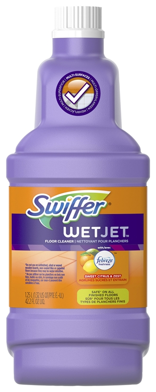 Swiffer 91228 Multi Purpose Anti Bacterial Cleaner For