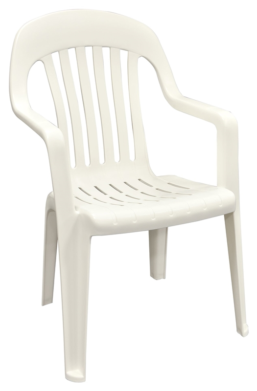 Adams 8254 48 3700 Stackable High Back Chair 36 In H X 22