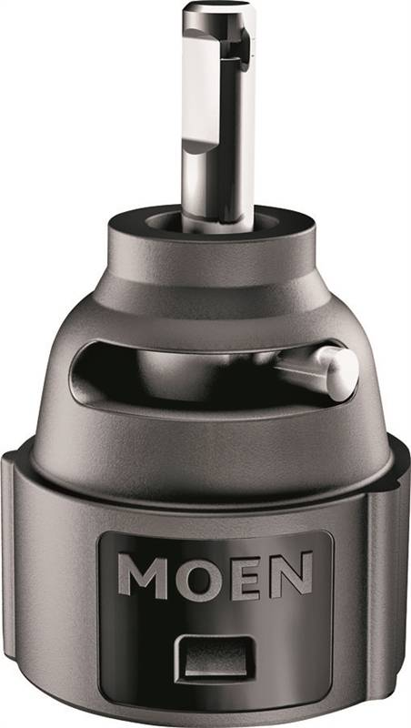 Moen 1255 replacement faucet cartridge for use with 1 handle kitchen and bath faucets for Moen bathroom faucet cartridge replacement video
