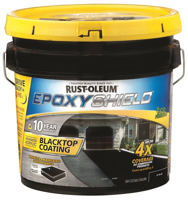 Epoxy Shield 247471 Solvent Based Blacktop Coating 2 Gal