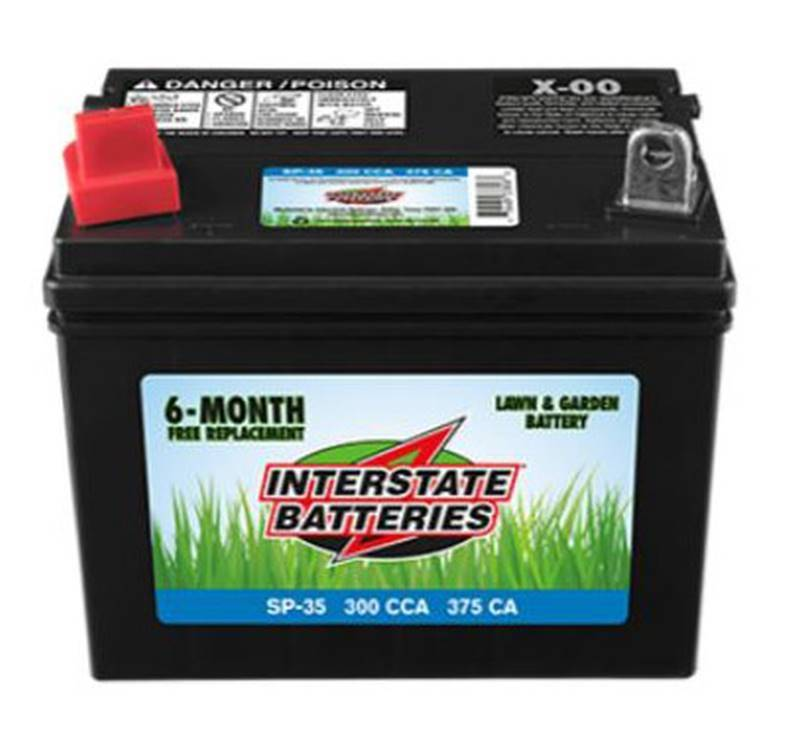 Interstate Batteries Sp 35 Battery Tractor 300cca