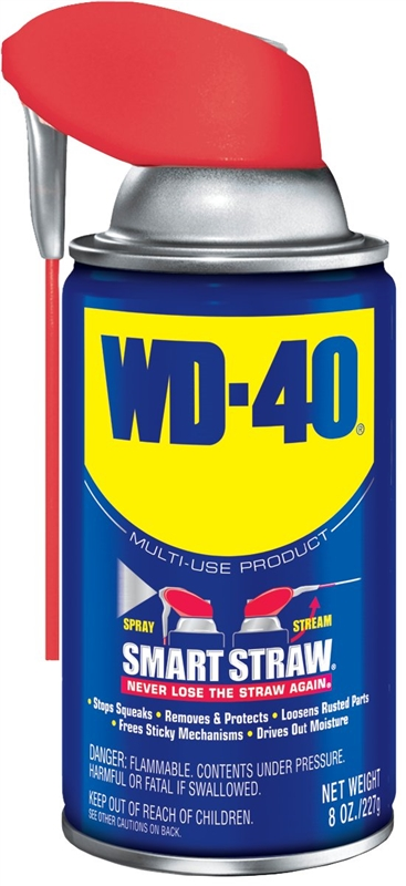 wd 40 490026 smart straw lubricant 8 oz aerosol can light amber liquid. Black Bedroom Furniture Sets. Home Design Ideas