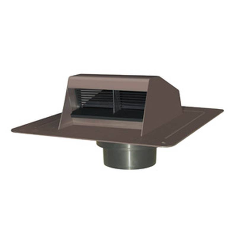 Best Type Of Roof Ventilation : Duraflo br low profile type b exhaust vent with