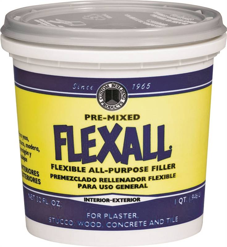 Dap Phenopatch Flexall All Purpose Flexible Ready To Use Patching Compound 1 Qt White Very