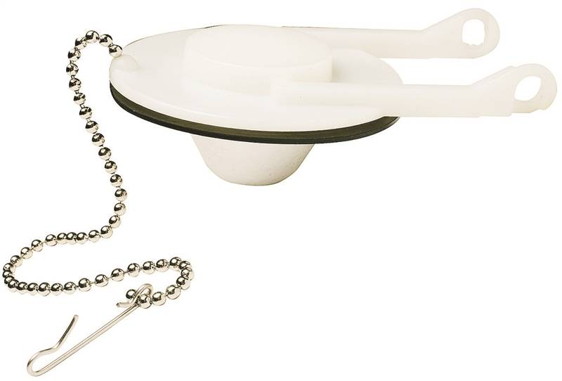 Plumb Pak PP835 89 Toilet Flapper With Chain And Hook For Use With Eljer Low
