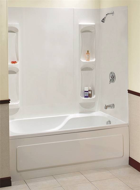 Maxx Utah 102573 000 129 5 Piece Bathtub Wall Kit 59 61