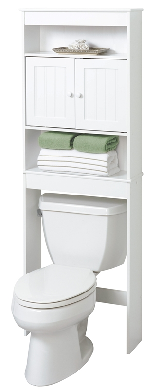 Zenith 9119W Country Cottage Spacesaver Bathroom Cabinet
