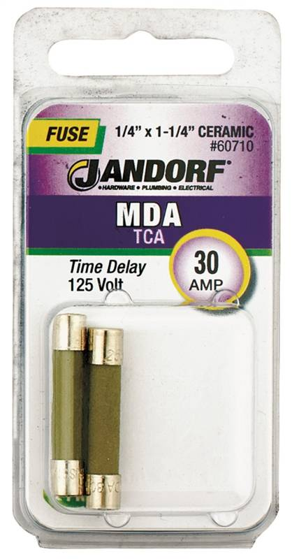 Bussmann Mda Cartridge Slow Blow Time Delay Fuse Without