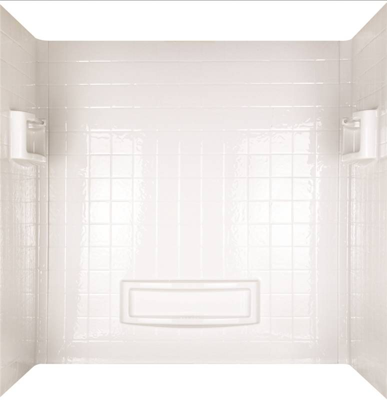 EverStrong 39124 3-Piece Surround Traditional Bath Tub Wall Kit, 32 ...