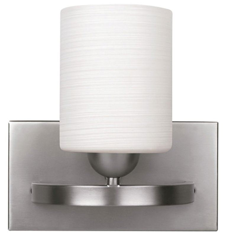 Vanity Lights Up Or Down : Canarm IVL370A01BPT Vanity Light, Brushed Pewter Housing, 1 Lamps, 100 W Medium A19 Lamp, Up or ...