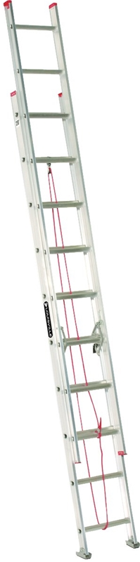 Louisville L 2324 Extension Ladder 200 Lb 10 Ft 95 In
