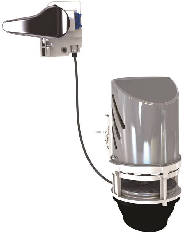 HydroStop FLT231T Toilet Flapper Alternative Assembly For Use With Flush Val