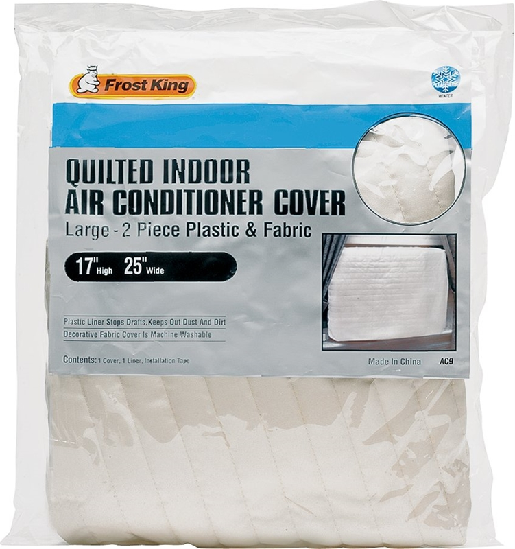 Frost King Ac9h Indoor Quilted Air Conditioner Cover 25