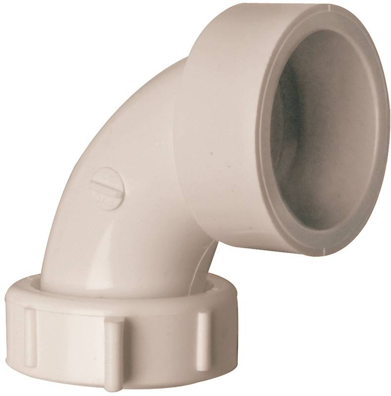 Plumb Pak Pp55 11 Sink Drain Pipe Elbow With Captured Nut