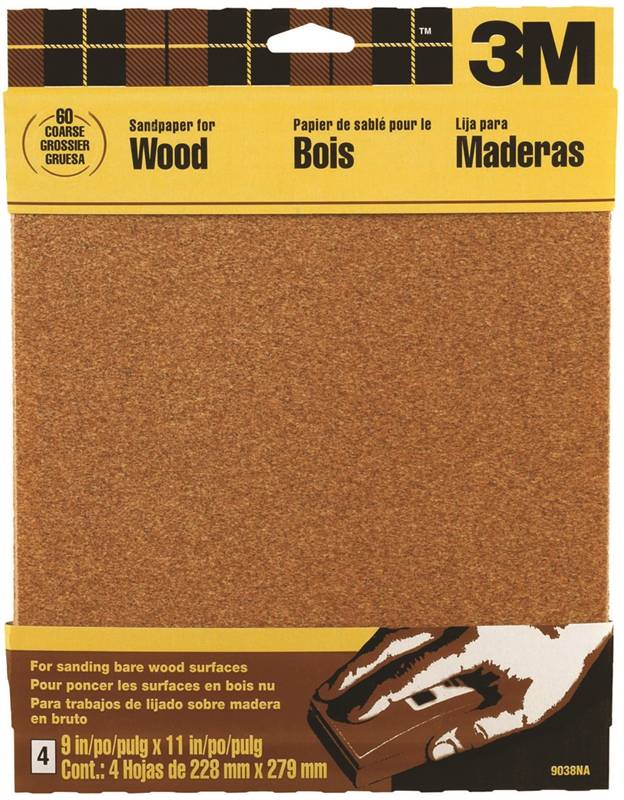 what determines the coarseness of sandpaper