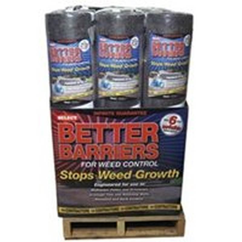 Quest Platinum 4000 Weed Barrier 6 Ft W X 50 Ft Roll L