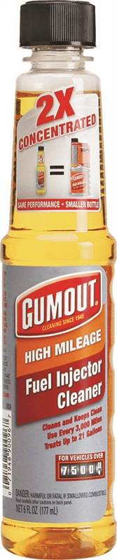 Gumout 800001363 Concentrated Fuel Injector Cleaner 6 Oz