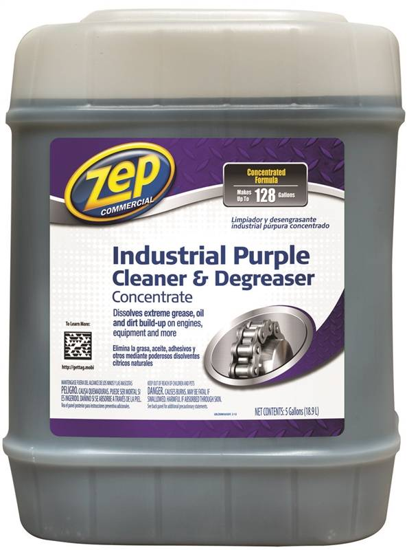 Zep Zu08565g Industrial Cleaner And Degreaser 128 Gal