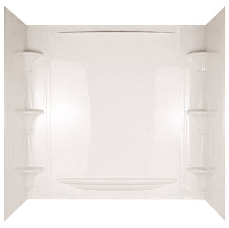 Alvea 39734 5-Piece Surround Bath Tub Wall Kit, 32 in L x 60 in W x ...