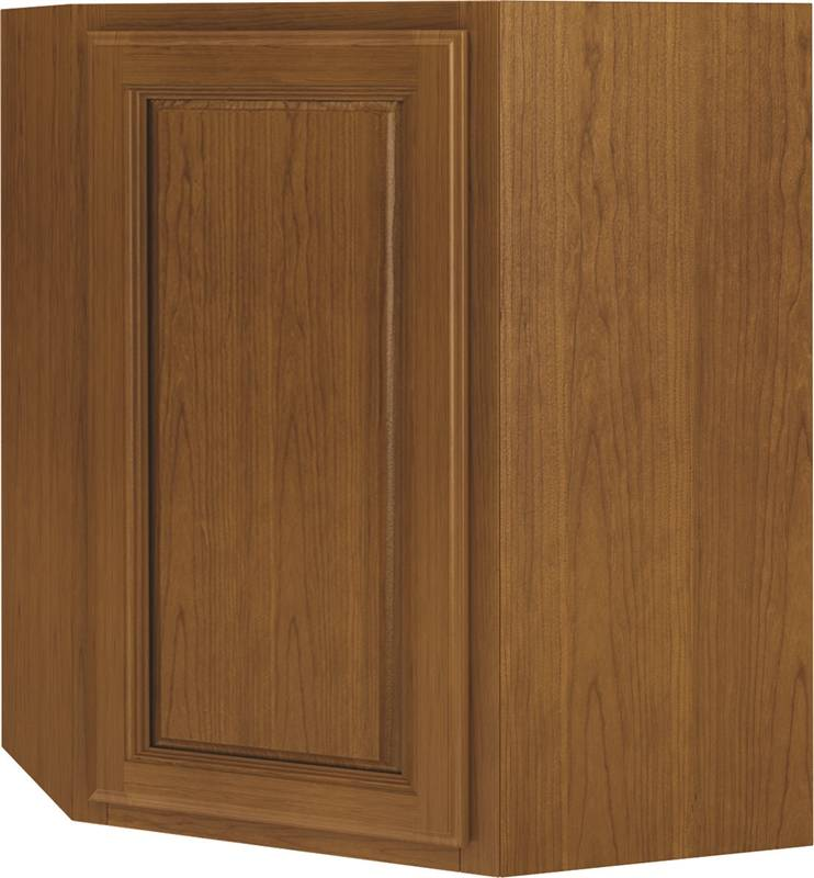 Randolph wd2430ra diagonal corner single door kitchen for Kitchen cabinets 30 x 24
