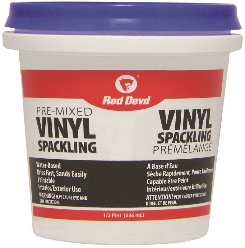 Pool Plaster Patching Compound : Red devil ca pre mixed spackling compound pt
