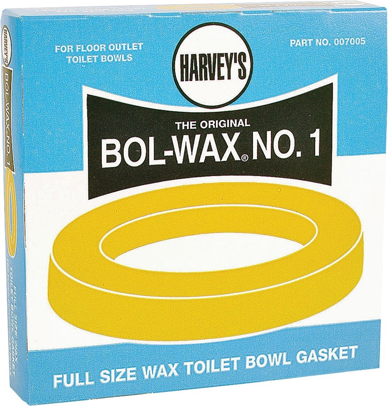 harvey 39 s bol wax no 1 heavy duty standard wax ring. Black Bedroom Furniture Sets. Home Design Ideas