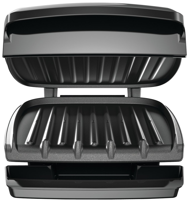 George Foreman Gr340fb 4 Serving Electric Grill 60 Sq In