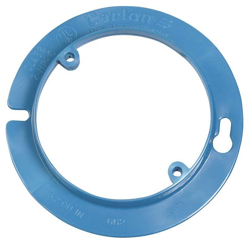 Carlon A471rr Round Tubing Ceiling Box Extender With Round