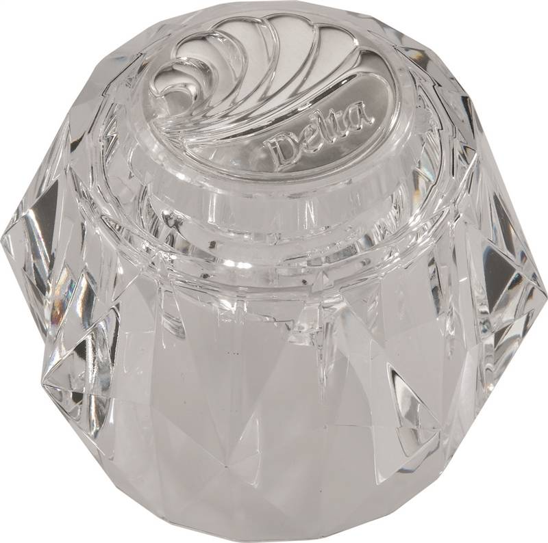 Delta 600 Crystal Faucet Knob Handle For Use With
