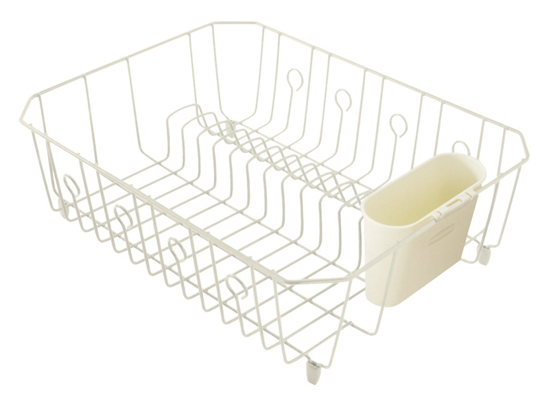 rubbermaid 6032arbisq large wire dish drainer in l x in w x in h brass. Black Bedroom Furniture Sets. Home Design Ideas
