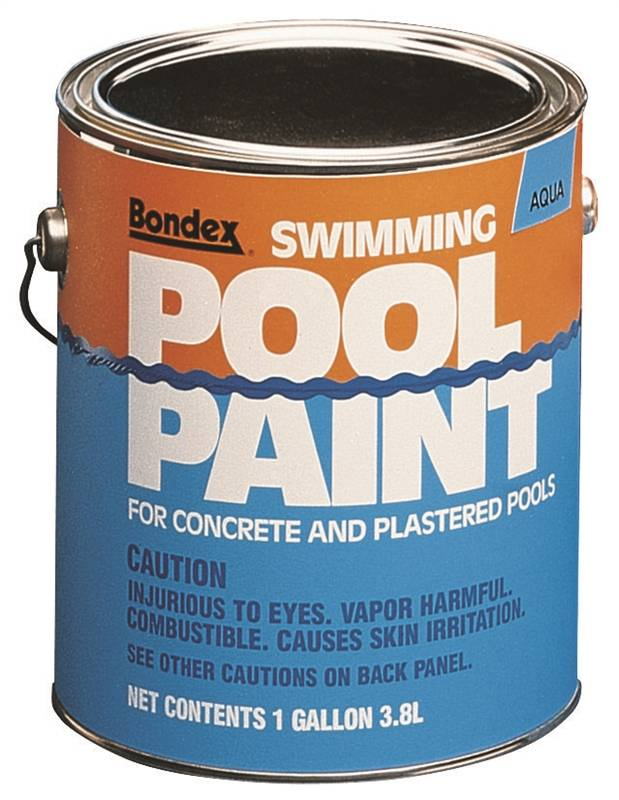 Zinsser 260539 Swimming Pool Paint 1 Gal Blue Mild Liquid