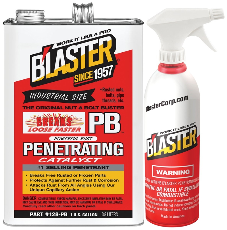 Blaster 128pb Penetrating Catalyst 1 Gal Bottle Orange