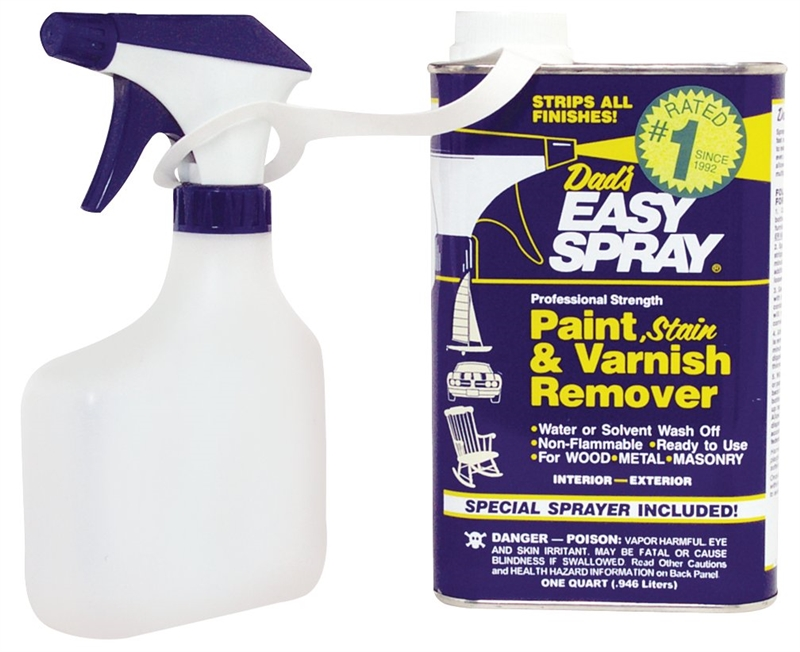 Dad S Easy Spray 22831 Paint And Remover 1 Qt Can Opaque Liquid