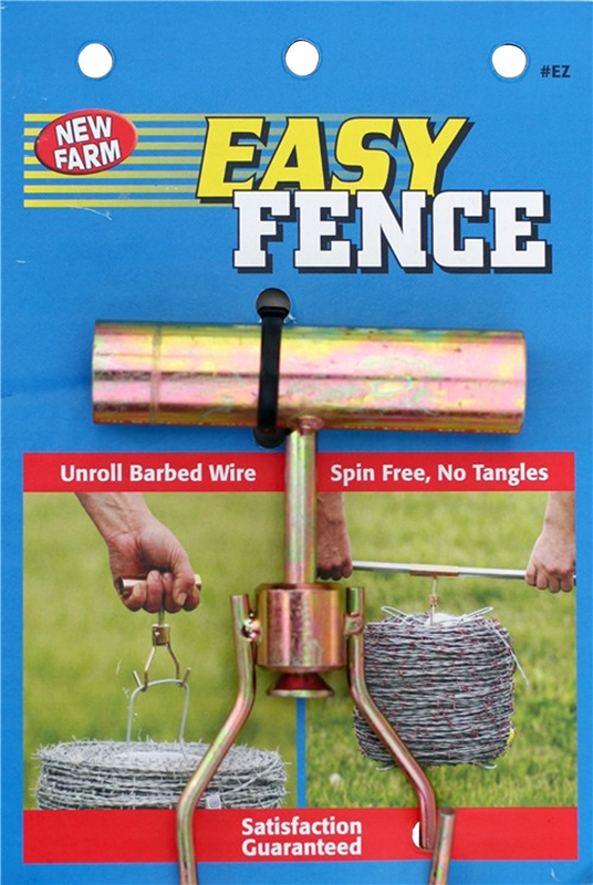 Easy Fence Ez Wire Unroller Handler 15 1 2 Ga High Tensile Barbed Wire