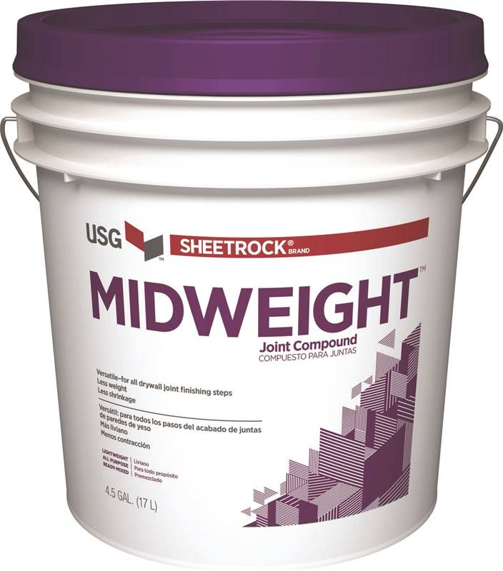 Sheetrock 380417 all purpose midweight ready mix joint for Bathroom joint compound