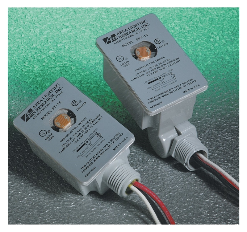 Area Lighting CPGI-ALR-PT-15 Direct Wire Switch Photocell, 120 V, 2000 W