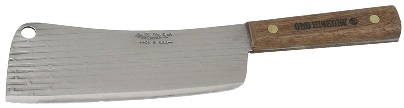 Old Hickory 076 7 Cleaver 7 In X 12 In L Brown 1095