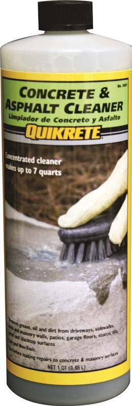 Quikrete 860114 non toxic non flammable concrete and for Non toxic concrete cleaner