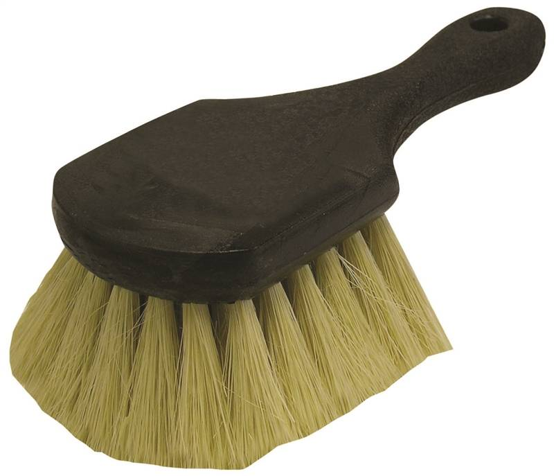 Quickie 246 Heavy Duty Gong Brush Tampico Fiber Trim