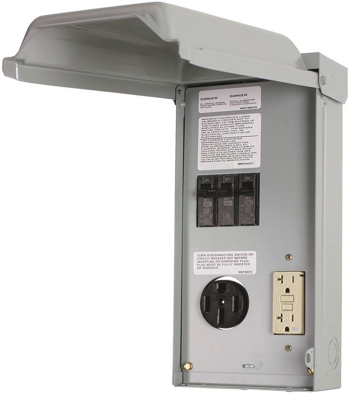 Ge Ge1lu502ss Rv Power Outlet Panels Outdoor Nema 3r