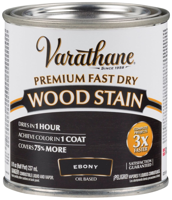 Old Masters Pickling White Gel Stain: Varathane 269400 Premium Fast Dry Wood Stain, 1/2 Pint