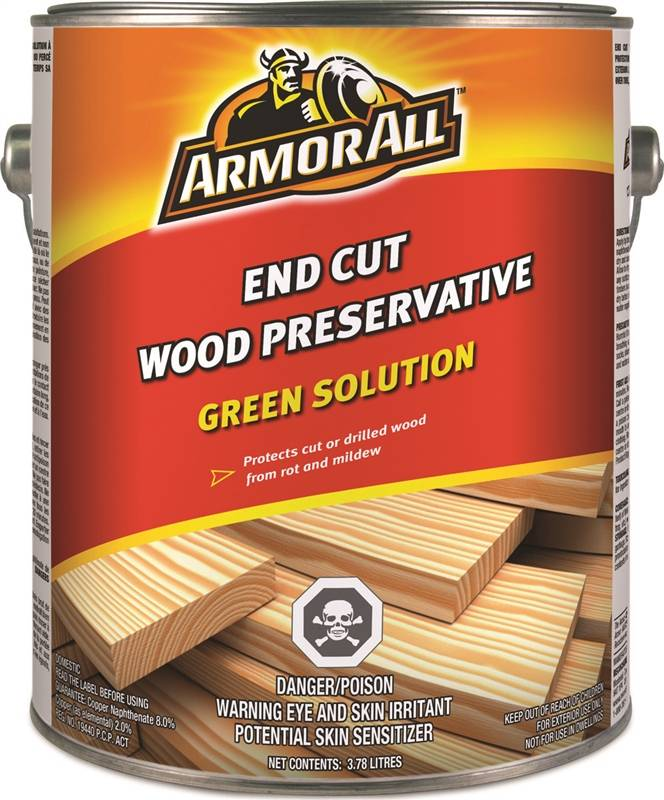 Preservative Wood Extr Grn Case Of 2