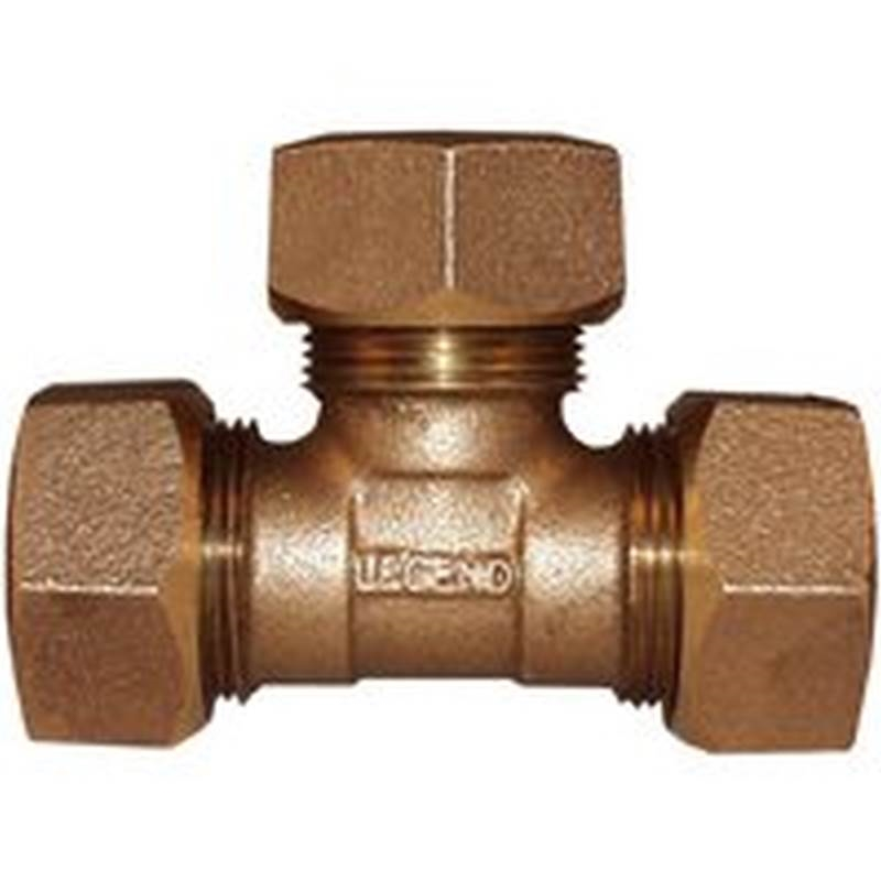 Legend Valve 313 434nl Compression Tee 3 4 In Cts Copper