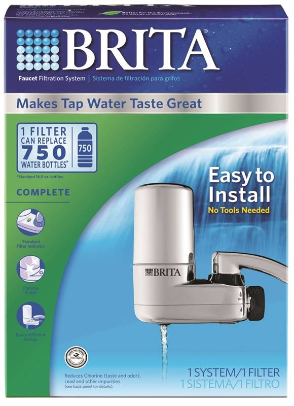 Clorox 35618 Faucet Water Filter System, For Use With Culligan FM ...
