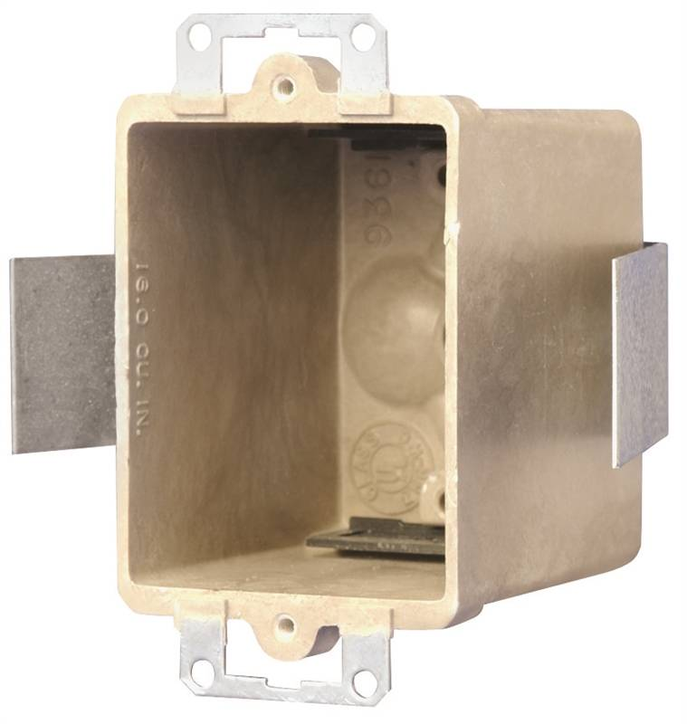 Allied Moulded 9361 Esk Old Work Switch Box 1 Gang 16 Cu