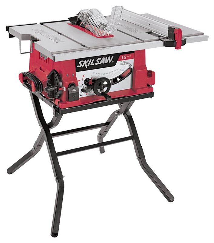 Skil Portable Table Saw Folding Stand 120 V 13 A 1800 W 10 In Blade 5000 Rpm