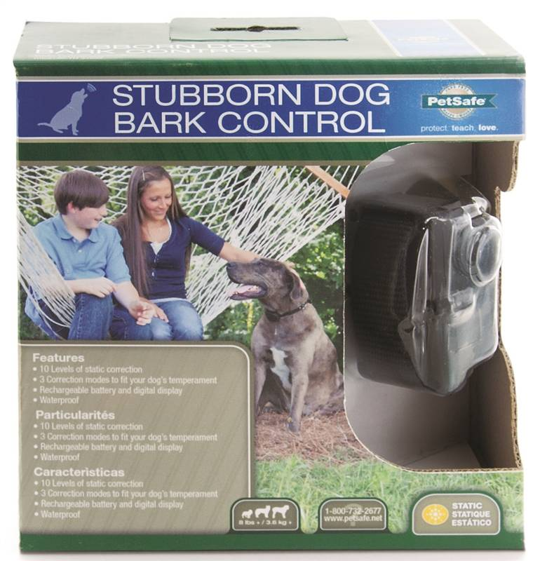 petsafe big dog rechargeable bark control collar manual