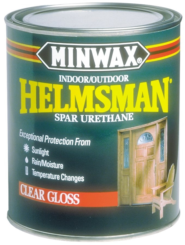 Helmsman 63200444 Topcoat Spar Urethane Oil 1 Qt Can 125 Sq Ft Qt Clear Mild Hydrocarbon