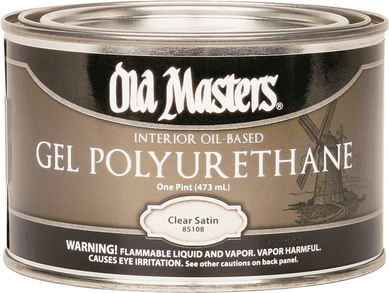 Old Masters 85108 Oil Based Polyurethane Paint 1 Pt Can